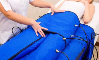 Pressoterapia-fermo