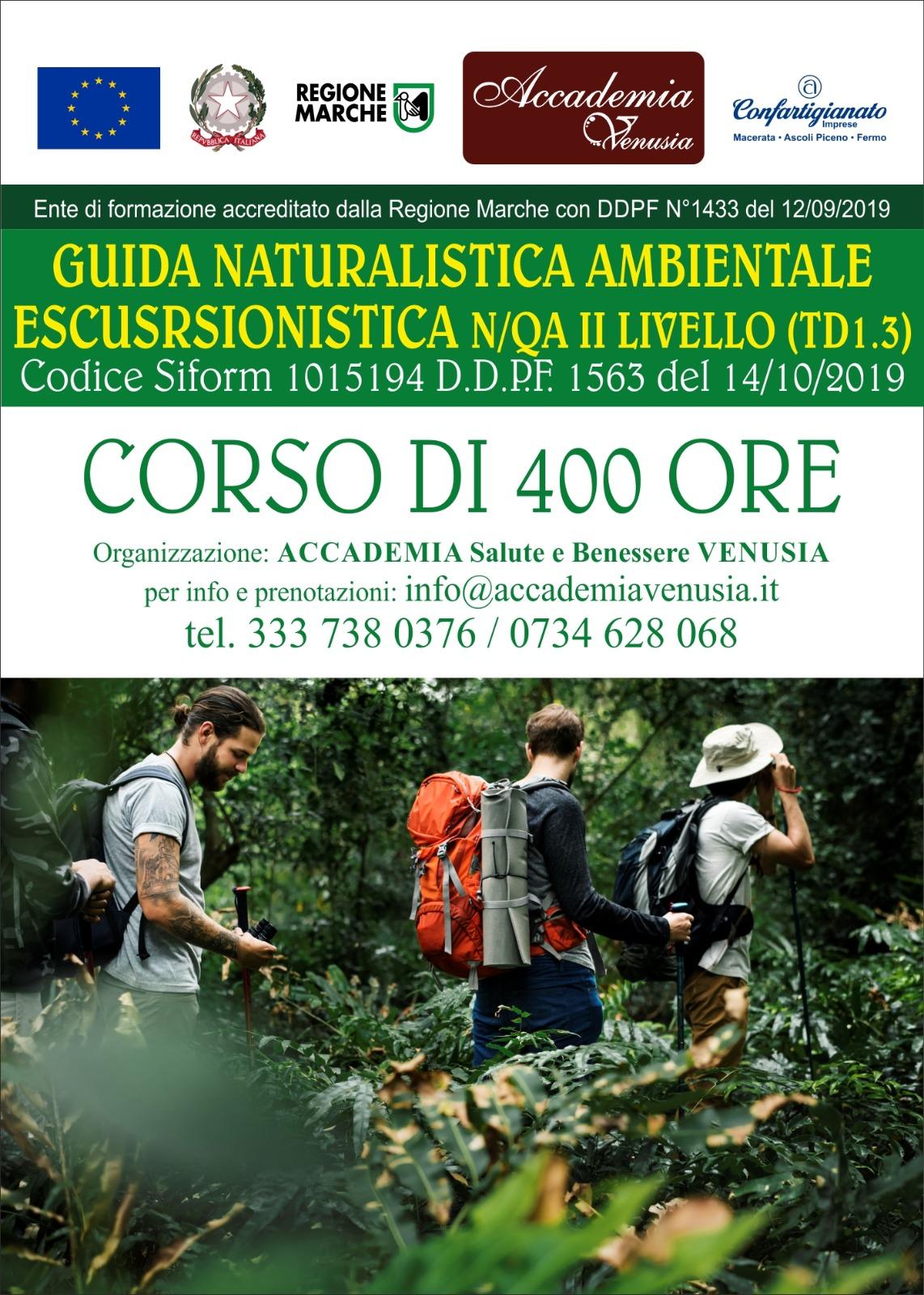 guida naturalistica escursionistica ambientale