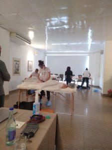 Corso di massaggio 2019 Accademia Venusia