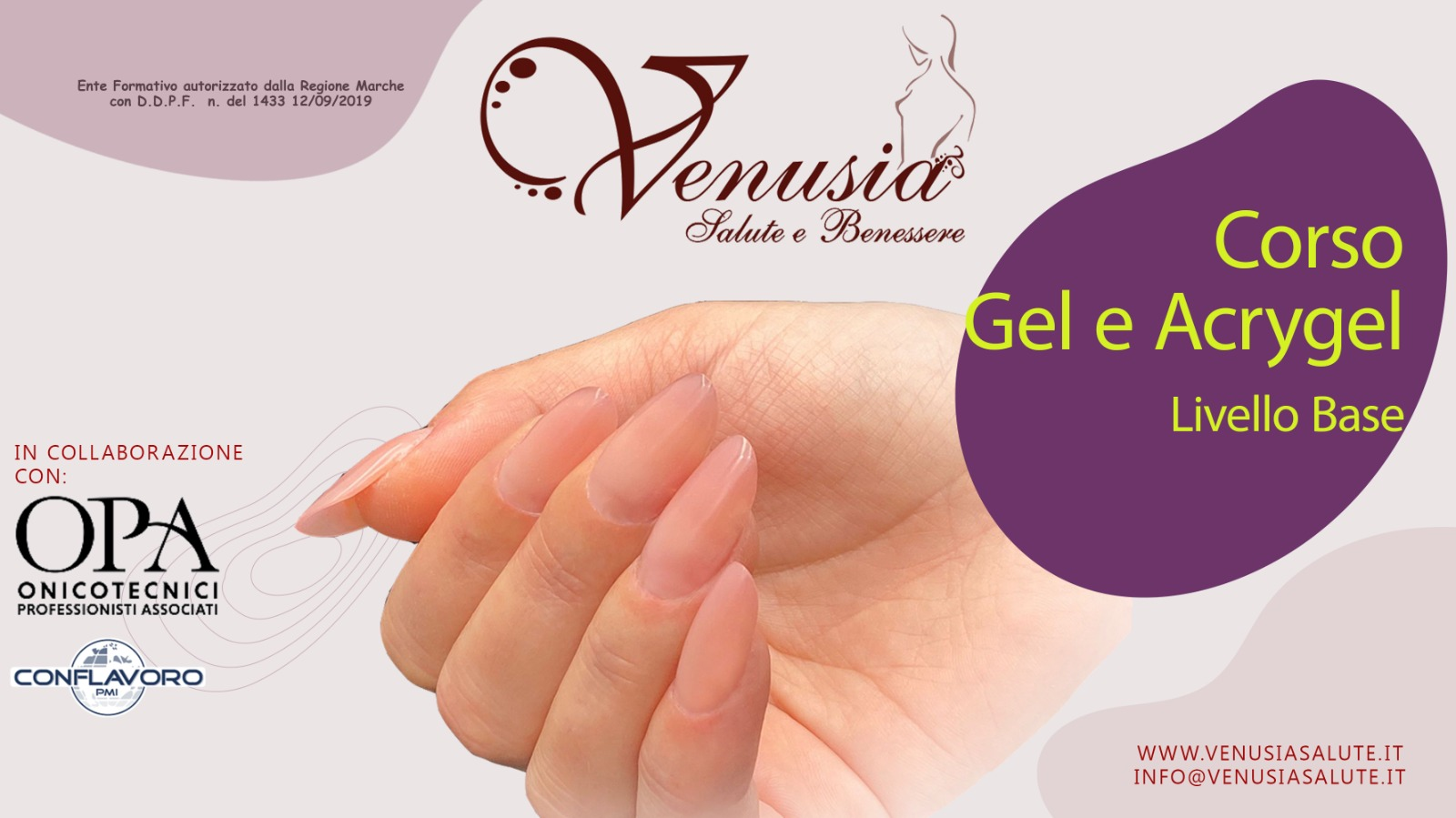 Corsi nail art Accademia Venusia