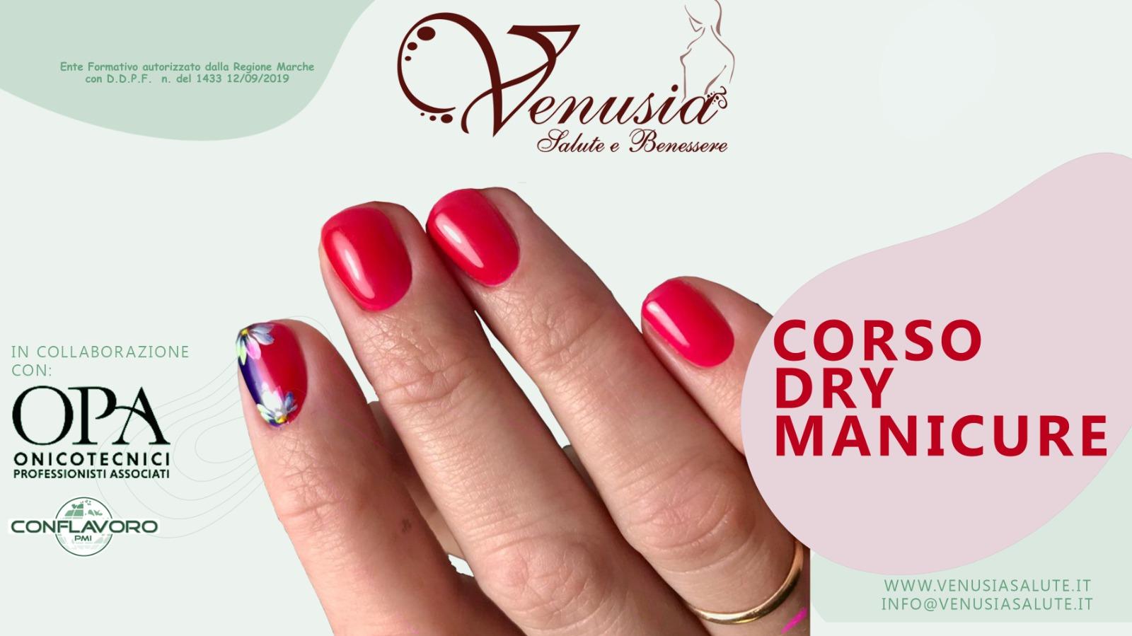 Corso unghie dry manicure