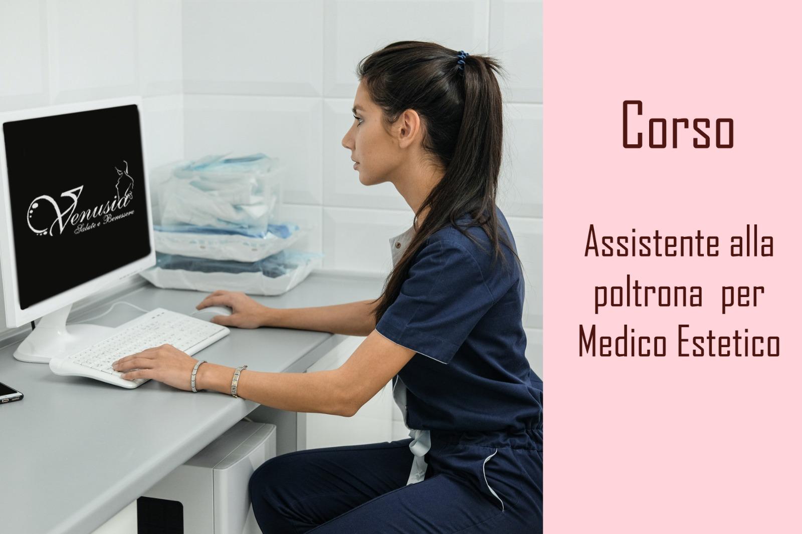 Assistente alla poltrona medico estetico