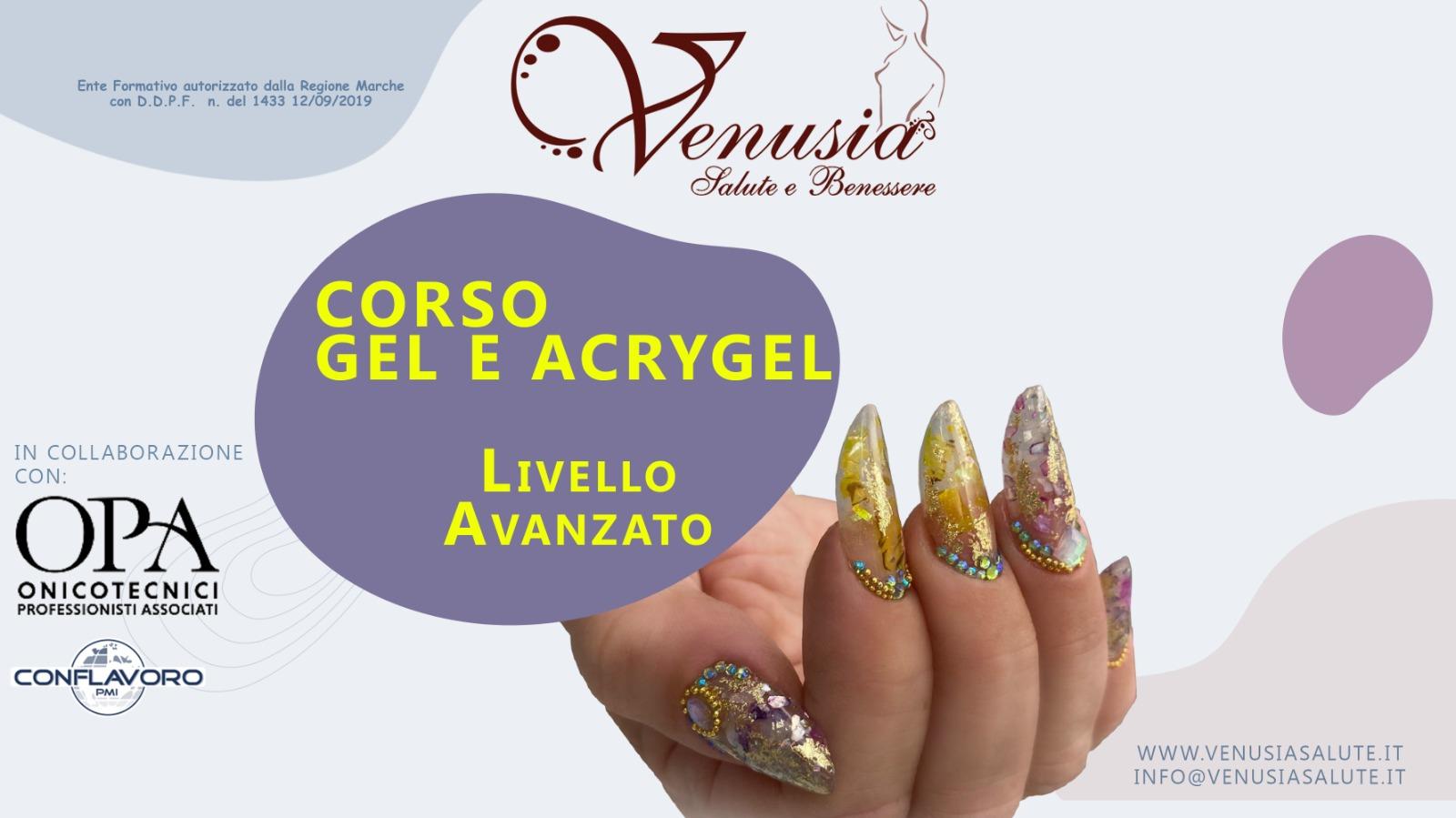 Corso nail art Accademia Venusia