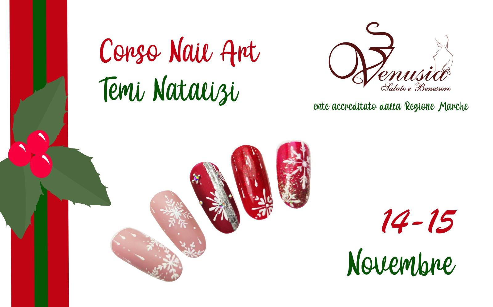 Corso unghie nail art natalizie